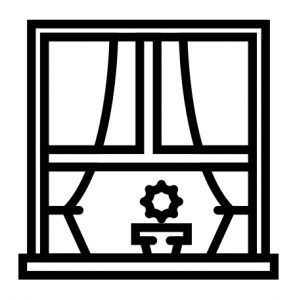 Image of a window in support of a page titled What is an Estate Sale?
